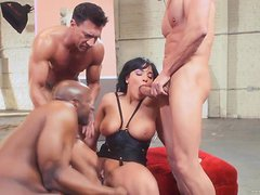 An Brutal Gangbang With Big Cocks For A True Slut