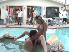 Hot Sex In The Jacuzzi For A Horny Blonde College Teen
