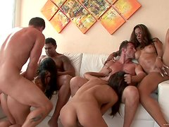 An Amazing Orgy With Insanely Hot Babes