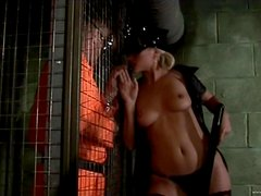 A Rough Fuck For A Slutty Officer From A Convict