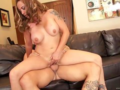 Rough Sex With A Gorgeous Milf And Her Man