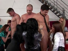 A Breath Taking Orgy With Insatiable Beauties