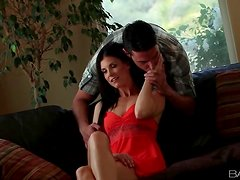 Kissing and stripping India Summer naked
