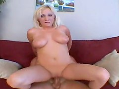 Hunk Jay enjoys having blonde milf Jessica riding