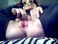 spunky munky pussy play - real female ejaculation