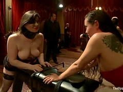 Dylan Ryan and her cute GF get naughty with Maestro Stefanos