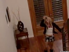 Shy School Girl Misti Love Loving the Big Black Cock