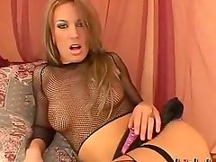 Holly Wellin was eager to get some more hardcore action