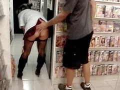 Exhib in sex shop