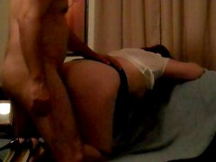 StacyMilf Cums Loud and Gets Fucked Doggie on Couch