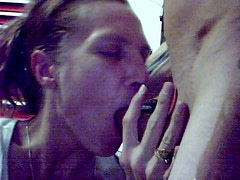 Nice BJ and fingers in her pussy