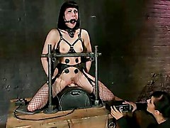 Beautiful Fetish Model Tied up and Dominated by Isis Love
