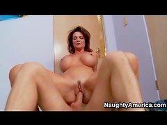 Deauxma sits on dick