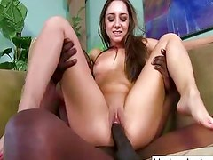 Remy LaCroix destroyed by black monster cock