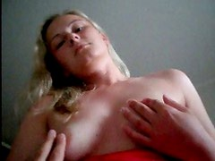 Amateur wife Jana masturbating