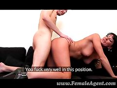 FemaleAgent - Stud can fuck MILF for hours