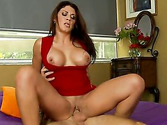 Leena Sky wants young hard dick in her wet shaved pussy! Part 2