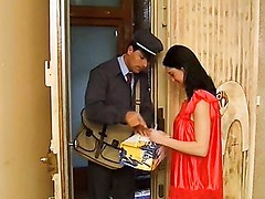 MILF Cheating with the Postman.