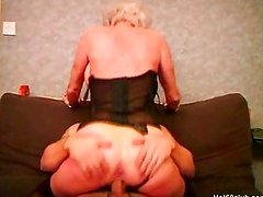 Granny With Pussy piercing