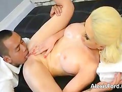Asian guy fucks Alexis Ford