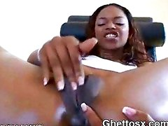 Ghetto Licking Finger And Masturbating Hot