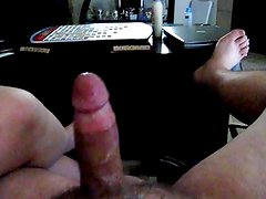 Wife Jerking Cum Out Of Hubby