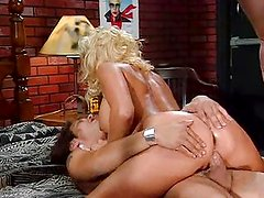 Stacy Valentine threesome anal and pussy bang