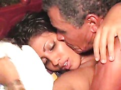 Desi Babe Banged By Lucky Old Man