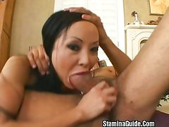 Big tit MILF fucked hard by young cock
