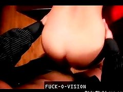 Hot babe strip and gets fucked
