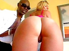 Big Tit Blonde and Big Black Cock-Big Booty