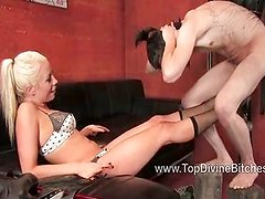 Mistress Lorelei Lee teases in this POV