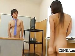 National nude day nudist Japan students