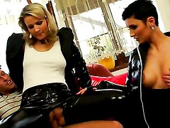 GETTING FULLY CLOTHED INTIMATE WITH THE HELP / SAMANTHA JOLIE, GABRIELLE GUCCI