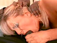 Busty mommy gets a black dick