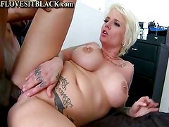 Gothic Mom Punded By Black Dick