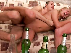 Real fucking video from a sex party 4 - Evi C, Luna, Lydia. Part 2