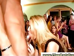 Unusual 69 in a cfnm kitchen party