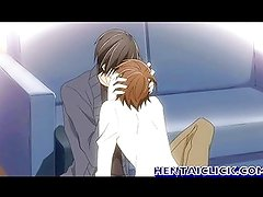 Anime gay man hot kisses and sex