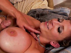 Sara Jay is hungry for sex MILF! Part 4