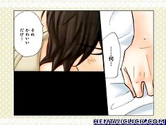 anime gay hot love kiss and touch