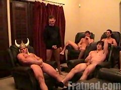 Jerk off race with Kumar and Max