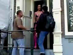 Real dutch hooker gives amateur guy a blowjob in reality sex