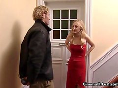 Blonde sexy Anna showing her passionate