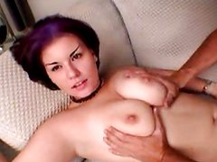Gwen gets her tits fondled