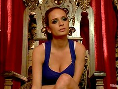 Nice girl gets spanked and dominated by her mistress