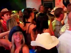 Watch hot chicks dance on the bar