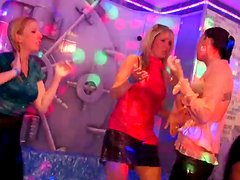Messy white whores dance in pool wearing soaking wet clothes