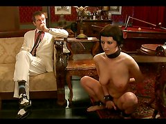 Kinky Domination Video with Submissive Brunette
