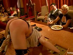 Amazing BDSM video with sexy chicks getting humiliated